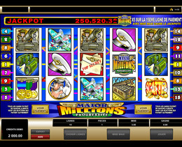 Jackpot progressif Major Millions de Microgaming