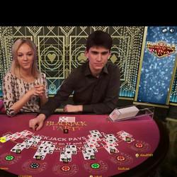 Blackjack sur Betway