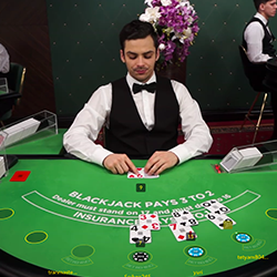 Blackjack sur Queen Vegas Casino