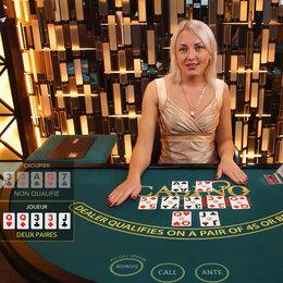 Live Casino Hold'em: jouer face a de vrais croupiers