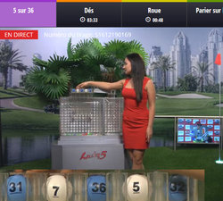 Live loterie Lucky31 Casino