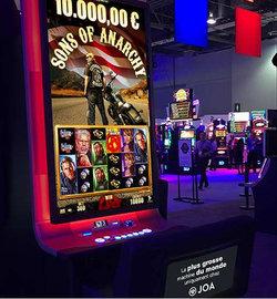 Machine a sous geante aux casinos Joa : Sons of Anarchy