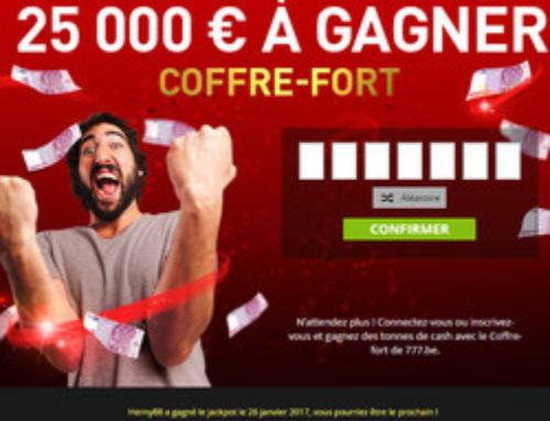 Bonus Casino777 : trouvez la combinaison gagnante du Coffre-Fort
