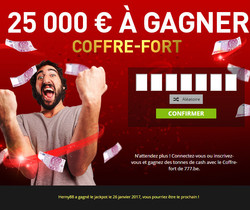 Bonus Casino777 du Coffre Fort