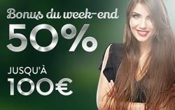 Bonus Week End Cresus Casino