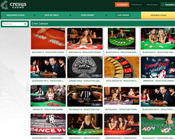 Cresus Casino sur Croupiers-en-direct.com
