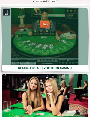 Cresus Casino Mobile