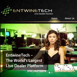 Logiciel EntwineTech avec croupiers en live