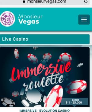 Monsieur Vegas Mobile