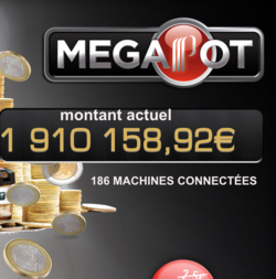 Jackpot progressif Partouche Megapot decroche au casino de la tremblade