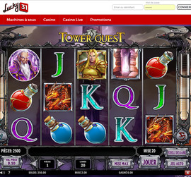 Machine a sous Tower Quest de Play'n Go