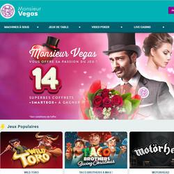 Bonus Monsieur Vegas pour la Saint Valentin