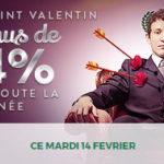 Bonus Saint Valentin sur Cresus Casino