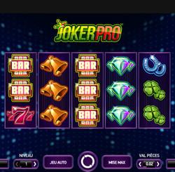 Machine a sous Joker Pro de Netent sur Dublin Bet