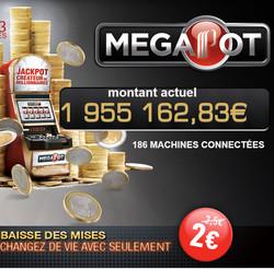 Partouche Megapot: Jackpot progressif #1 en France