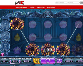 Machine a sous Yggdrasil sur Lucky31 Casino