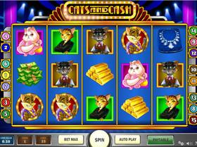 Machine à sous Cats and Cash de Play'n GO