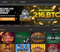 Un joueur de machine a sous Play'n GO gagne 216 BTC sur Cloudbet Casino