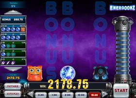 Machine à sous Energoonz de Play'n GO