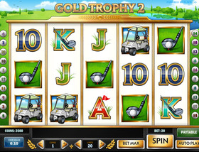 Machine à sous Gold Trophy 2 de Play'n GO