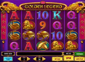 Machine à sous Golden Legend de Play'n GO