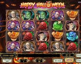 Machine à sous Happy Halloween de Play'n GO