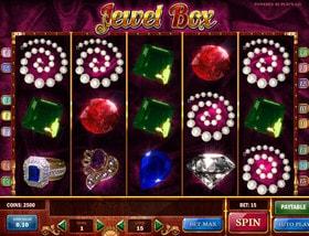 Machine à sous Jewel Box de Play'n GO