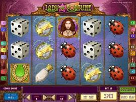 Machine à sous Lady of Fortune de Play'n GO