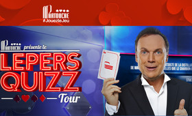 Lepers Quizz Tour dans les casinos Partouche