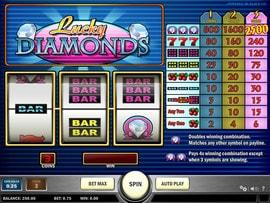 Machine à sous Lucky Diamonds de Play'n GO