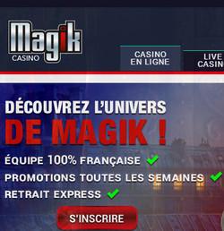 Magik Casino et ses croupiers en direct Extreme Live Gaming