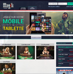 Magik Casino sur Croupiers en Direct