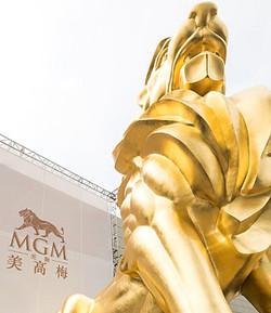 MGM Cotai, un lion en or de ce nouveau casino de Macao