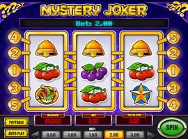 Machine à sous Mystery Joker de Play'n GO