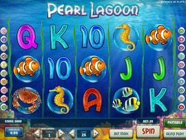 Machine a sous Pearl Lagoon de Play'n GO
