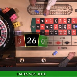 Roulette Dragonara accessible sur Lucky31 Casino