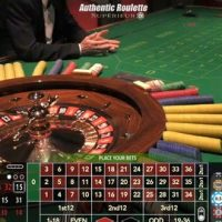 Authentic Roulette Superieur en direct d'un vrai casino italien