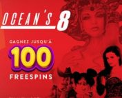 Bonus Cresus Casino Ocean's8 avec machines a sous NextGen Gaming