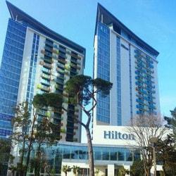 Casino International de Batumi installé dans l'Hotel Hilton (Géorgie)