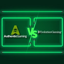 Comparatif Live roulette Authentic Gaming Vs Evolution Gaming