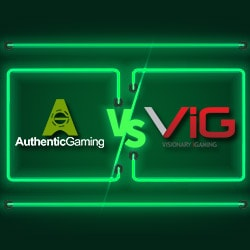 Comparatif Live Roulette Authentic Gaming Vs Visionary Igaming