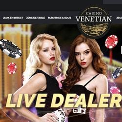 Casino Venetian sur Croupiers en Direct