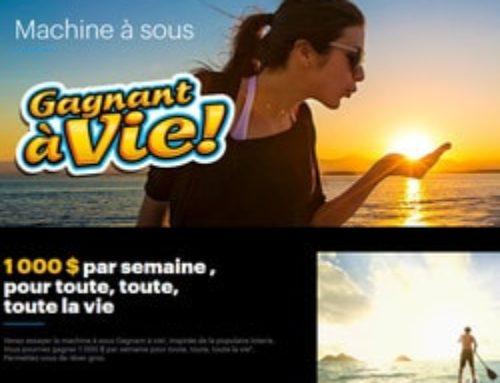 Machine à sous au casino de Montréal: Gagnante à vie!