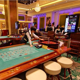 Grand Casino de Bucarest situé au Marriott Hotel