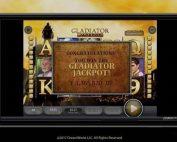 Jackpot progressif Gladiator de Playtech
