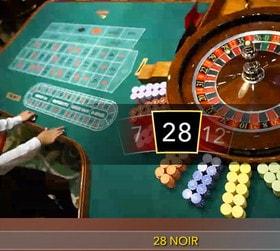 Roulette en ligne Evolution Gaming du Grand Casino de Bucarest