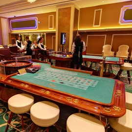 Roulette live du Grand Casino de Bucarest
