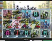 Machine a sous Beat Bots du logiciel Genii disponible sur Casino Extra