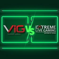 Comparatif Live Roulette Visionary Igaming VS Extreme Live Gaming