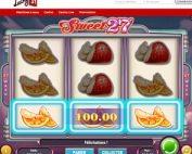 Machine a sous Sweet 27 de Play'n GO sur Lucky31 Casino